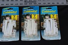 Safety 1St Cabinet & Drawer Latches – Baby Kid Proof – 3 Sets, 21 Latches – New