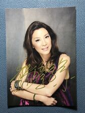 hand signed Michelle Yeoh autographed photo autographs 5*7 122019A