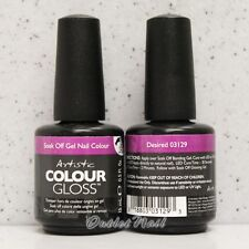 Artistic Colour Gloss - DESIRED #03129 WINTER 2013 UV Gel Nail Polish Design