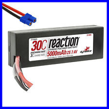Dynamite Reaction 7.4v 5000mah 2S 30C Lipo Hardcase EC3 Connector : Losi Vaterra