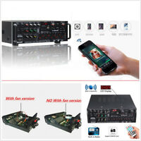 1200W Bluetooth 2.0 Channel Audio Power HiFi Amplifier Speaker For Car SUV Home
