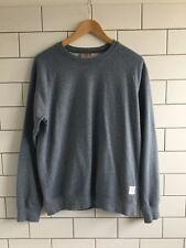 Carhartt Holbrook Sweater Blue Marl Size Medium