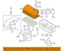 mazda oem 16-18 mx-5 miata 2 0l air cleaner box housing-