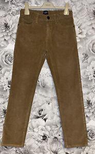 Boys Age 8 (7-8 Years) Gap Cord Trousers - Slim Straight - Regular Fit