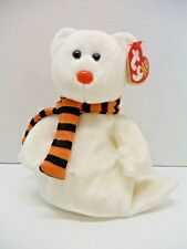 New ListingTy Beanie Baby Quivers the Ghost Teddy Bear - Halloween Bean Bag Plush