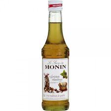 6 x Monin Geröstete Haselnuss Sirup, 250 ml Flasche, 25 cl (6 x 250 ml)