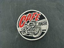 Patches Aufbügler Aufnäher Cafe Racer Motorrad Biker Bikerpatch Rocker