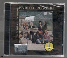 ENRICO RUGGERI LA PAROLA AI TESTIMONI CD SIGILLATO!!!