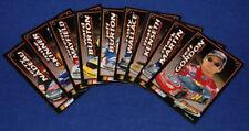 2001 PRESS PASS GATORADE FRONT RUNNER AWARD 9-Card NASCAR Set NM/MT