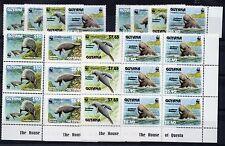 1993 GUYANA FAUNA 8 SERIE INTEGRE B/2098
