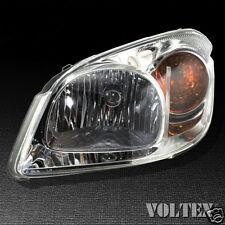 2006-2009 Pontiac G5 Chevrolet Cobalt Headlight Lamp Clear lens Halogen Left