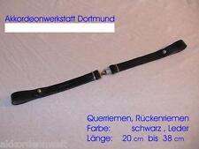 Akkordeon- Querriemen- Rückenriemen, Acordion Backstrap,   ca. 18 - 38 cm