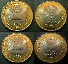 2 bimetals animals unusual coinage set 4pcs 2015 Ø35mm ARGENTINIAN ANTARCTIC