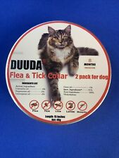 Duuda Flea & Tick Collar 2 Pack For Dog 8 Month Protection