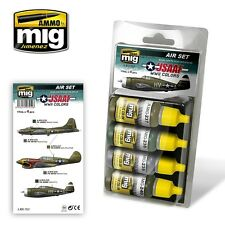 USAAF WWII COLORS Ammo Mig