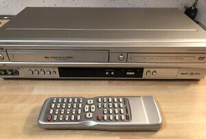 HITACHI DV-PF4E(UK) DVD Player / VHS / VCR Video Recorder with Remote.