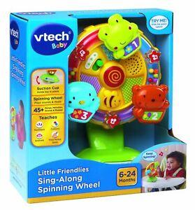 Vtech Baby Little Friendlies Sing-along Spinning Wheel