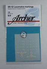 Archer 1/35 BR 52 Kriegslokomotive War Locomotive Markings (Trumpeter) AR35219