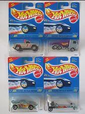 Hot Wheels Racing Metals Series 1994 Complete 4 Car Set Original Cards