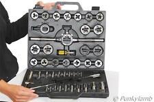 45pc ingenieros Tungsteno Unf Unc Tap And Die Garage Taller Conjunto de herramientas