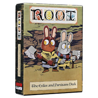 Leder Games: Root - The Exiles & Partisans Alternative Deck For Roots, Free Ship
