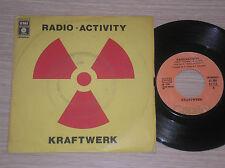 """KRAFTWERK - RADIOACTIVITY / ANTENNA - 45 GIRI 7"""" ITALY"""