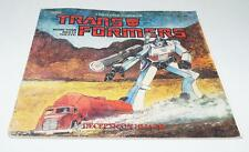 Decpticon Hijack A Big Looker Storybook Book G1 Transformers Action Figure