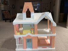 Vintage 1991 Playskool Victorian Dollhouse