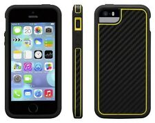 Genuine Griffin Identity Graphite Yellow Protective Case for iPhone 5 5s & SE