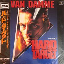 LASERDISC JAPAN + OBI - HARD TARGET - VAN DAMME - PILF-1913 - NTSC
