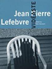 Jean Pierre Lefebvre: Vidéaste (Cinematheque Ontario Monographs)-ExLibrary