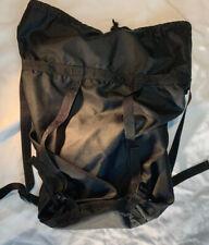 US Military Sleeping Bag Compression Stuff Sack for MSS, 6 Strap Black