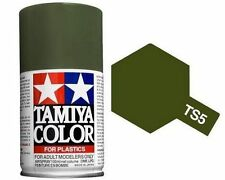 TAMIYA COLORE SPRAY PER PLASTICA OLIVE DRAB VERDE OLIVA 100ml    ART TS5
