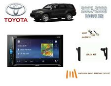 2003-2009 TOYOTA 4-RUNNER CAR STEREO KIT, TOUCHSCREEN DVD USB BLUETOOTH
