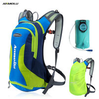 ANMEILU 10L Waterproof Camping Backpack 2L Water Bag Outdoor Cycling Backpack