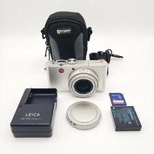 Leica D-LUX 3 10.0MP Digital Camera Silver Gray w/ Travel Case 16GB Memory Card