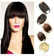 Real Natural Hair Extension Clip In Front Hair Bangs Fringe human Love Hair gd68