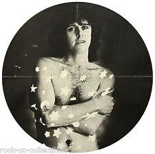 Donovan 1973 Cosmic Wheels Album Insert Poster Rare Original