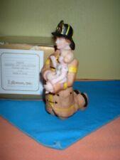 Roman Fireman With Little Girl Beautiful Gift! New!