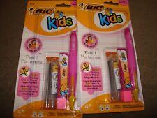 BIC KIDS PENCIL PINK 42718 LOT OF 2