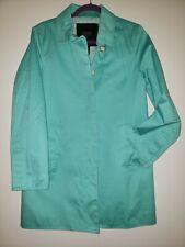 Coach Coat Women's Size M Jacket Peacoat Turquoise