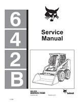 New Bobcat 642B Skid Steer Loader 1986 Edition Repair Service Manual 6570275