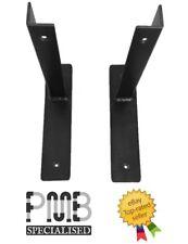 Iron Shelf Supports Pair | scaffold Board Bracket | Handmade in the UK!
