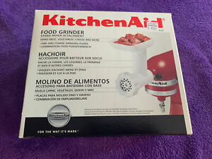 KitchenAid Meat Food Grinder Stand Mixer Attachment - White ($50 MSRP!)