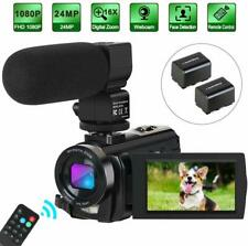 Camcorder Video Camera Digital YouTube Vlogging Camera HD 1080P 30FPS 24MP 16...