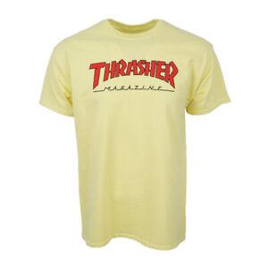 Thrasher Skateboard Magazin Herren Zitronengelb