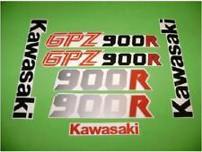GPZ 900 R vintage 1987 - 1988 old motorcycle decals stickers gpz 900R