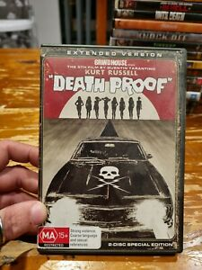 Death Proof (DVD, 2008) Grindhouse 2 Disc Special Edition