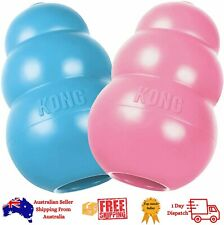 New Kong Puppy Dog Chew Toy Dental Teething Rubber All Sizes Tough USA made