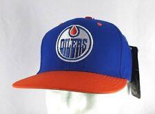 Edmonton Oilers Blue/Orange NHL Baseball Cap Snapback